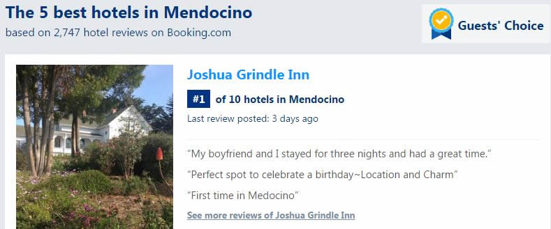 joshua grindle mendocino #1 hotel in mendocino by booking.com guests