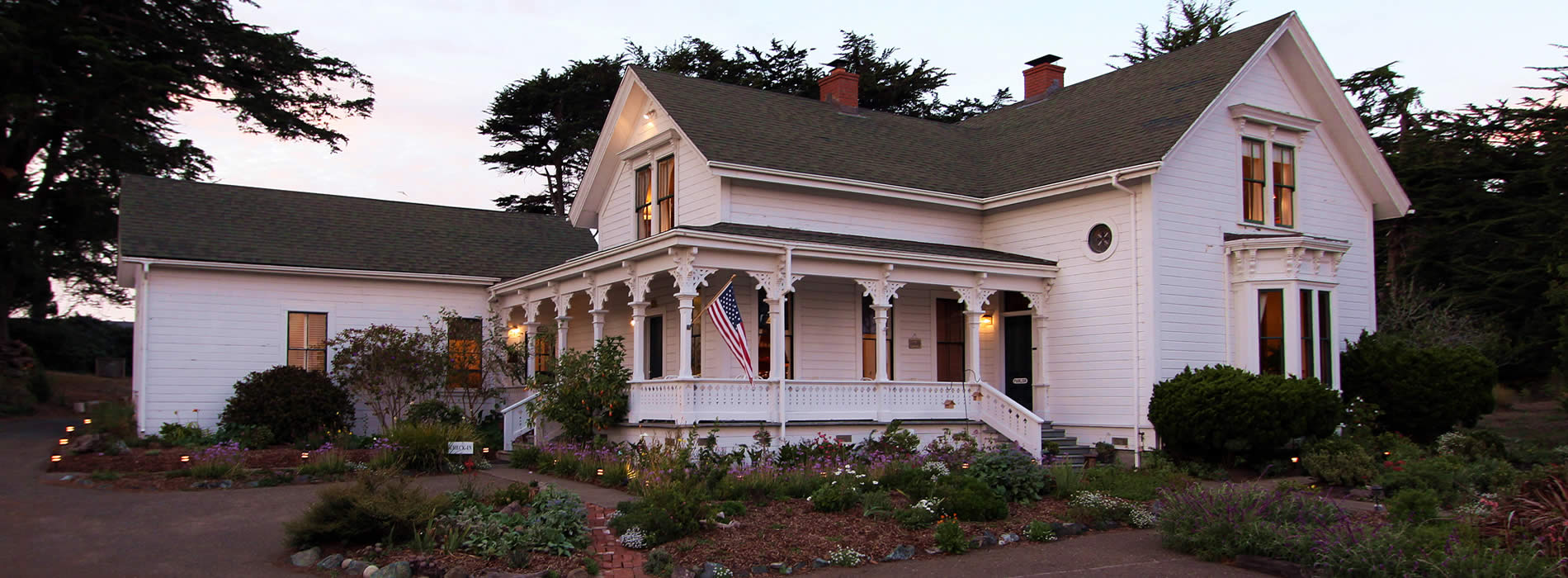 joshua grindle inn mendocino bed and breakfast lodging
