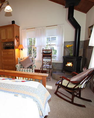 mendocino ca lodging - cottage south